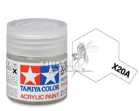 X-20A Acrylic Thinner 23ml.