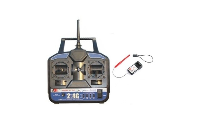 FLY SKY T4B 2.4GHz 4 Channel Radio + RX
