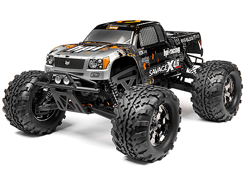 THE HPI SAVAGE X 4.6 2.4GHz