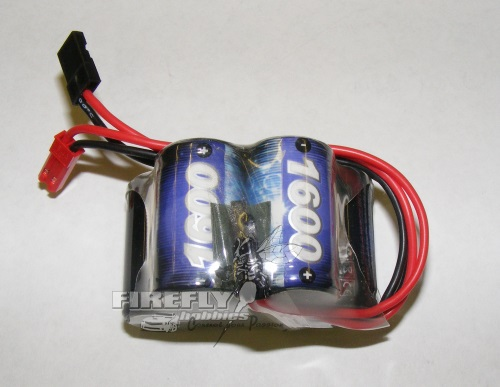 X-POWER 1600MaH 6V NiMh Hump Pack Rx Battery