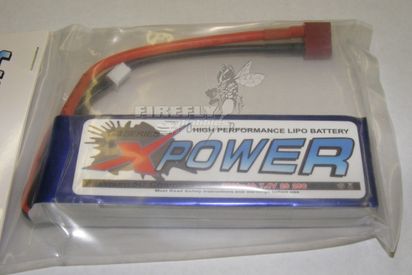 X-POWER 2200mAh 7.4V 25C LiPo