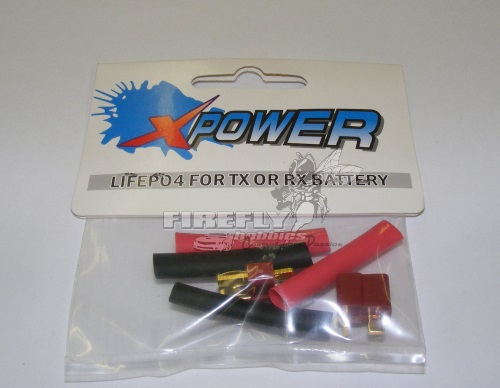 X-POWER Deans T Connectors (2 PAIR)
