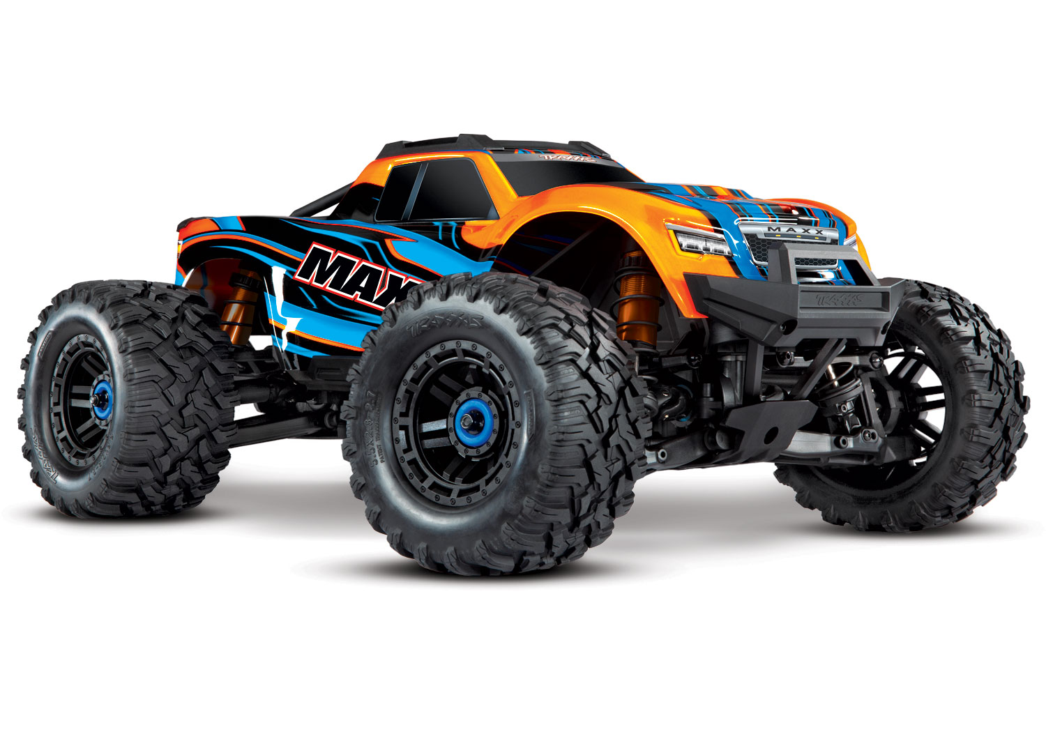 MAXX - 1/10 SCALE 4WD BRUSHLESS MONSTER TRUCK w/TQi #89076-4
